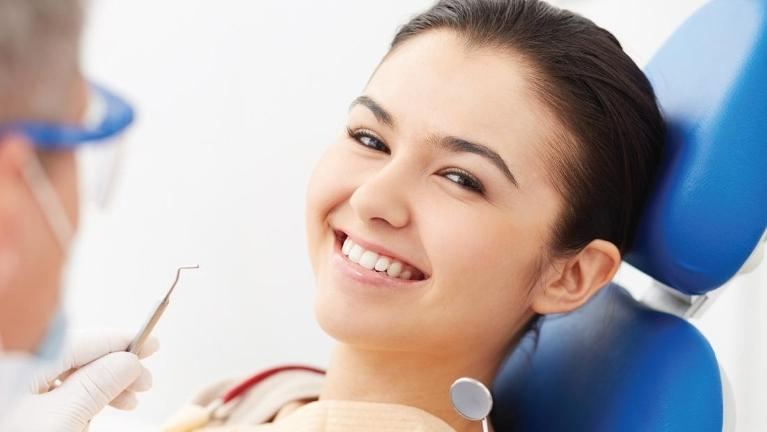 Woman at Dentist | Root Canals in Springfield MO